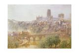 Elvet Bridge, Durham, 1876 Giclee Print by Alfred William Hunt