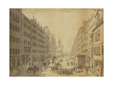 View of the High Street of Edinburgh from the East, 1793 Giclee Print by David Allan