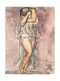 Isadora Duncan (1877-1927) Giclee Print by Emile-antoine Bourdelle