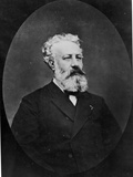 Portrait of Jules Verne (1828-1905) Photographic Print by Etienne Carjat