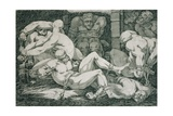 Ugolino and His Sons in the Tower of Famine, 18th Century Giclee Print by James Jefferys