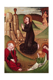 The Agony in the Garden Giclee Print by  Master of Janosret