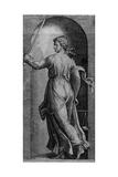 Justice Giclee Print by Marcantonio Raimondi