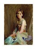 Study of a Young Woman Giclee Print by George Hall Neale