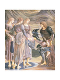 Perseus and the Sea Nymphs, C.1876 Giclee Print by Sir Edward Coley Burne-Jones