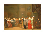 Courting Scene, 1644 Giclee Print by Dirck Hals