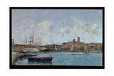 View of Antibes, 1893 Giclee Print by Eugène Boudin