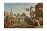 A London Fair, C.1730 Giclee Print by John Laguerre