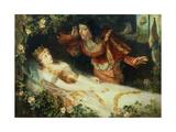 Sleeping Beauty, 1881 Giclee Print by Richard Eisermann