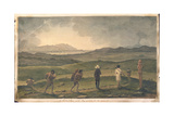 Distant View of the Bay of Islands, New Zealand, C.1827 Giclee Print by Augustus Earle
