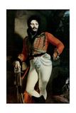 Portrait of Colonel Evgraf V. Davydov (1775-1823) 1809 Giclee Print by Orest Adamovich Kiprensky