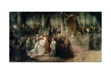 The Coronation of King Gustav III of Sweden (1746-92) Giclee Print by Carl Gustaf Pilo