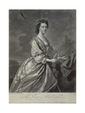 Flora Macdonald (1722-90), Engraved by J. Faber,1747 Giclee Print by Thomas Hudson