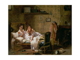 Two Women in Bed Giclee Print by J.A. Rohne