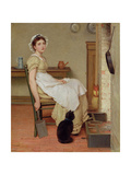 Her First Place Giclee Print by George Dunlop Leslie