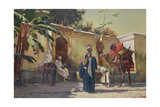 Moroccan Scene Giclee Print by Rudolphe Ernst