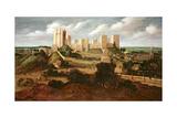 Pontefract Castle, C.1620-40 Giclee Print by Alexander Keirincx
