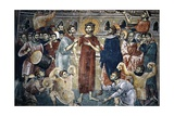 The Mocking of Christ, 1316-18 Giclee Print by  Michael Astrapas and Eutychios