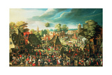 The Feast of St George Giclee Print by Pieter Balten