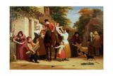 The Village Post Office Giclee Print by William Frederick Witherington