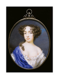 Mary of Modena, 2nd Wife of King James II of England and Scotland, C.1677 Giclee Print by Peter Cross