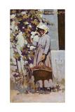 La Paysanne a Grez Giclee Print by Arthur Melville