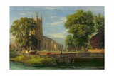Croydon Parish Church, 1839 Giclee Print by Ramsay Richard Reinagle