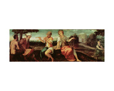 The Judgement of Midas Giclee Print by Andrea Schiavone