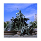Neptune Fountain, 1891 Giclee Print by Reinhold Begas