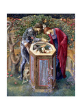 The Baleful Head, C.1876 Giclee Print by Sir Edward Coley Burne-Jones