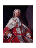 Sir Robert Walpole, Earl of Orford (1676-1745), First Lord of the Treasury and Chancellor of the… Giclee Print by Michael Dahl
