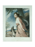 Bacchante, Engraved and Pub. by Charles Knight (1743-C.1826), 1797 Giclee Print by George Romney