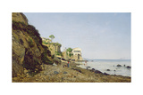 Seascape at Sorrento, 1859 Giclee Print by Henri-Joseph Harpignies