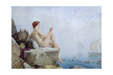 The Siren, 1888 Giclee Print by Edward Armitage