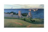Vision. Scene from Visby, 1894 Giclee Print by Sven Richard Bergh