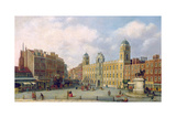View of Northumberland House, C.1770 Giclee Print by William James