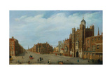 View of St. James's Palace and Pall Mall, C.1770 Giclee Print by William James