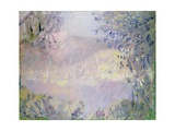 Monte Carlo: View of Roquebrune, 1884 Giclee Print by Claude Monet