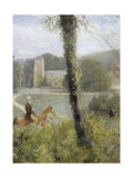 Somerset: Man Riding to His Lady Giclee Print by John William North