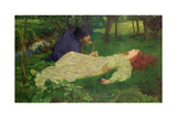 Silent Noon, 1894 Giclee Print by John Byam Liston Shaw