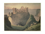 Dunluce Castle, County of Antrim, Ireland, Near the Giant's Causeway, C.1835 Giclee Print by Augustus Earle