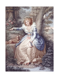 Mrs Fitzherbert, Engraved and Pub. by Jean Conde (1725-94), 1792 Giclee Print by Richard Cosway
