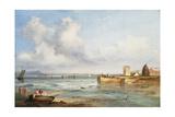Portobello Sands Giclee Print by Andrew Wilson