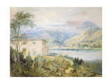 Tent Lodge, by Coniston Water, 1818 Giclee Print by J. M. W. Turner
