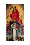 St. Michael Weighing the Souls, from the Last Judgement, C.1445-50 Giclee Print by Rogier van der Weyden