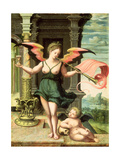 An Allegory of Fame Giclee Print by  Master of the Female Half Lengths