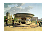 The Granite Dish in the Pleasure Garden, Berlin, 1831 Giclee Print by Johann Erdmann Hummel