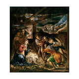 Adoration of the Shepherds, 1572-76 Giclee Print by  El Greco