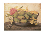 A Bowl of Pears Giclee Print by Giovanna Garzoni