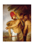 A Chief of the Sandwich Islands, 1787 Giclee Print by John Webber